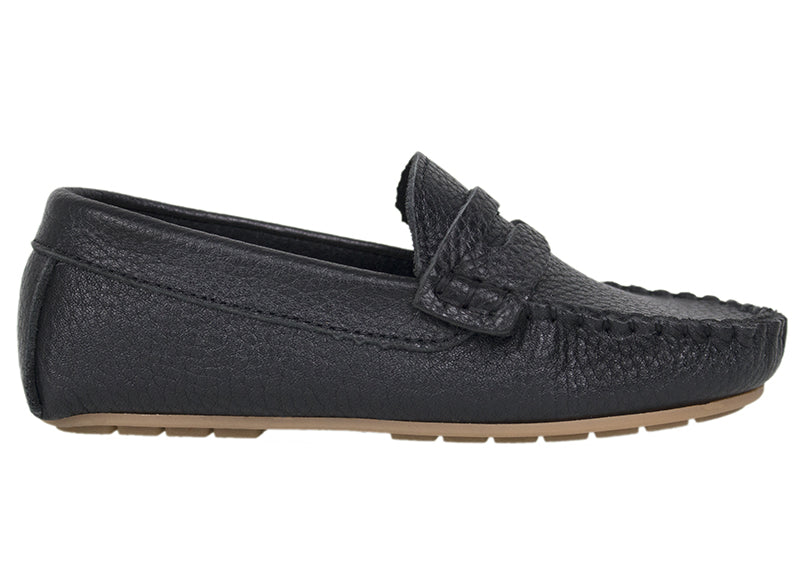 Tomaz C326 Penny Loafers (Black) (Kids) - Tomaz Shoes (737846919257)