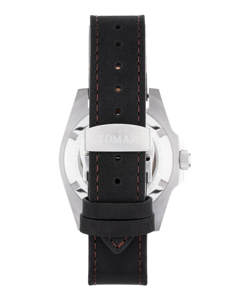Load image into Gallery viewer, Tomaz Men's Watch GR01-A (Silver/Red/Black)