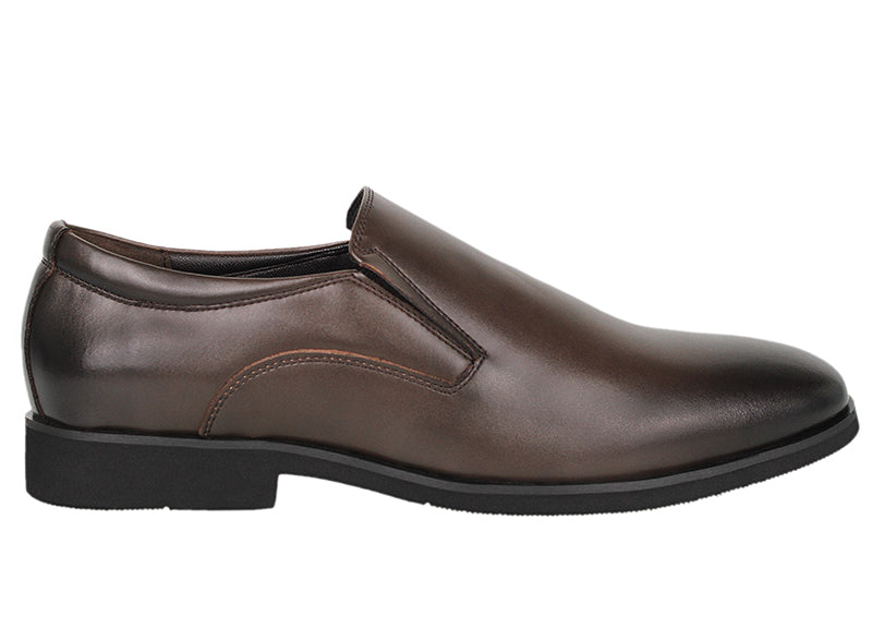Tomaz F160 Formal Slip On (Coffee) - Tomaz Shoes (791613243481)