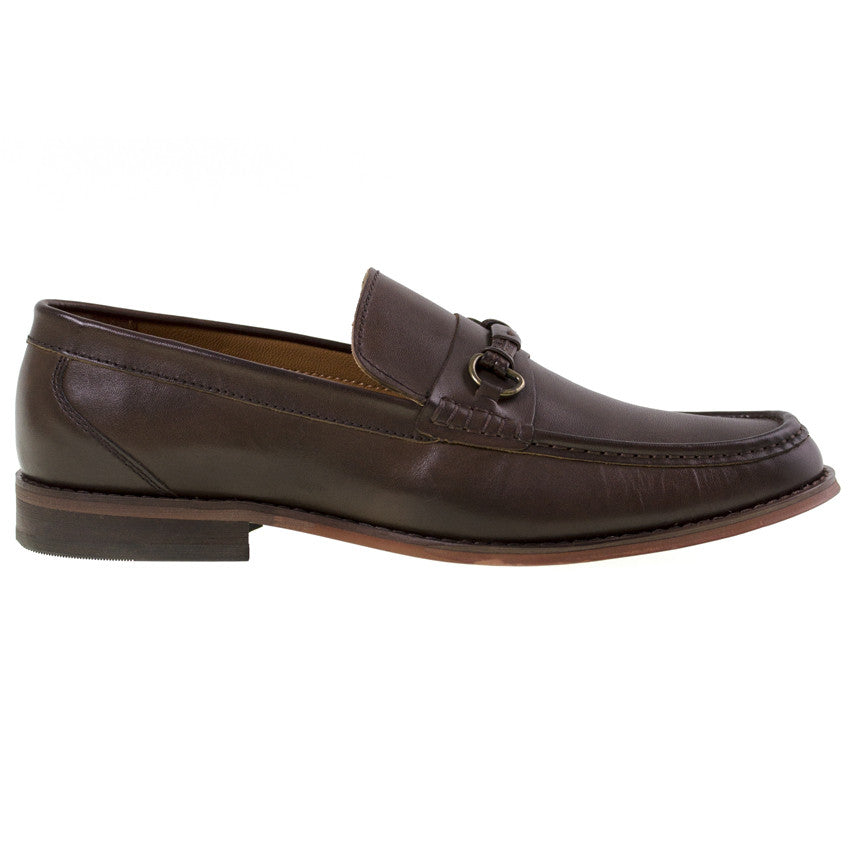 2b5d0212f67 Tomaz C259 Penny Buckle Loafers (Coffee) - Tomaz Shoes