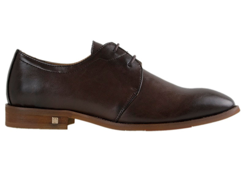 Tomaz F139 Lace Up Formal (Coffee) - Tomaz Shoes (10468790344)