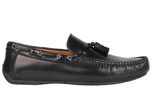 Tomaz C360 Tassel Loafers (Black) - Tomaz Shoes