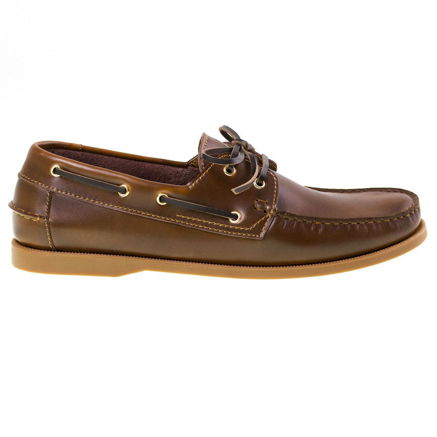 Tomaz BF001 Leather Boat Shoes (Brown) - Tomaz Shoes (8851980872)