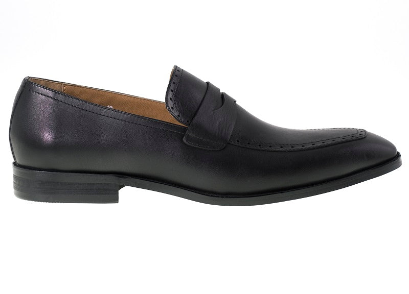 Tomaz F129 Penny Loafers (Black) - Tomaz Shoes (275935166493)