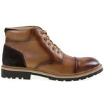 Tomaz C269 Cap-toe Boots (Brown) - Tomaz Shoes (8861464968)
