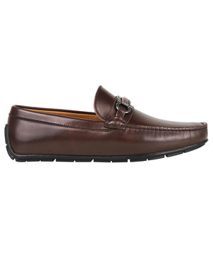 Tomaz C316 Front Buckled Moccasins (Coffee)