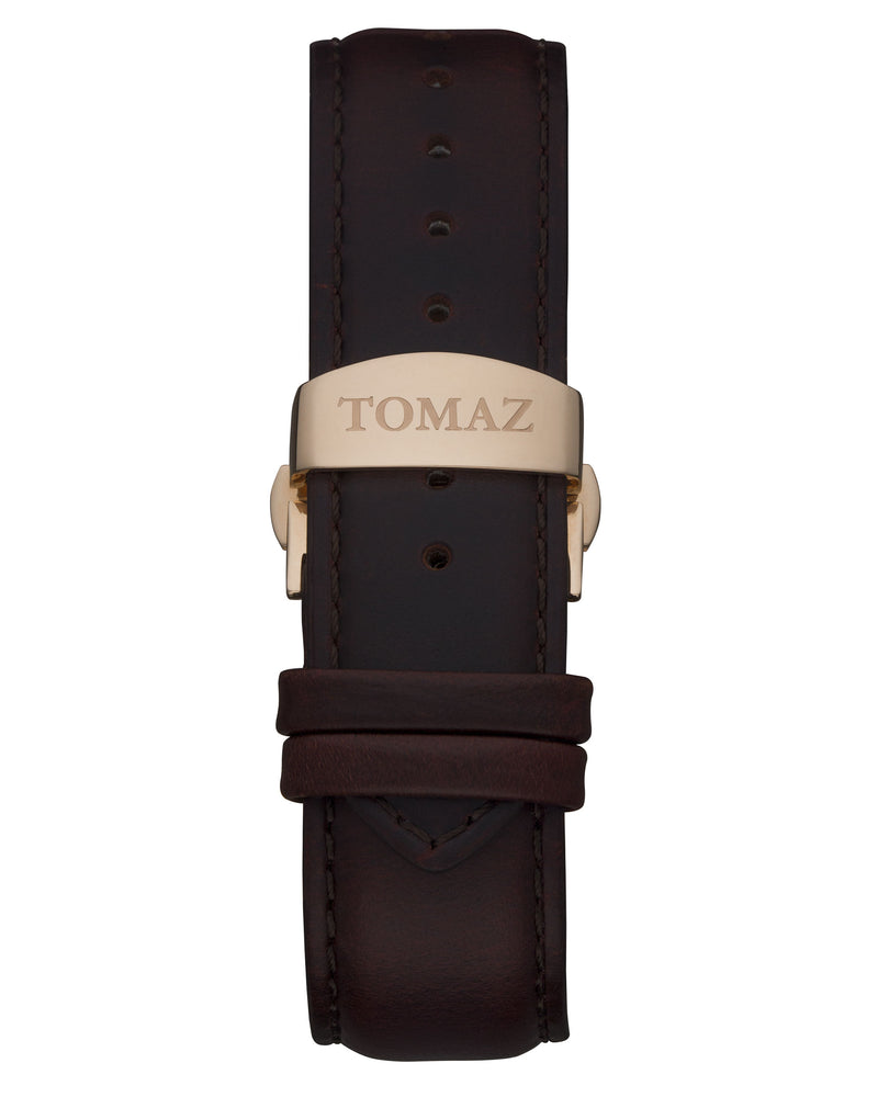 Load image into Gallery viewer, Tomaz Men's Watch TW009A - (Rose Gold/Black)