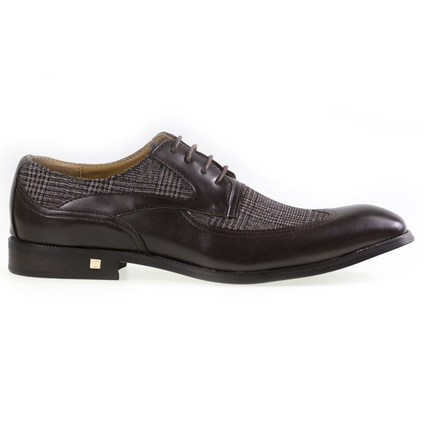 Tomaz F113 Wing Tip Derby (Coffee) - Tomaz Shoes (8840162888)