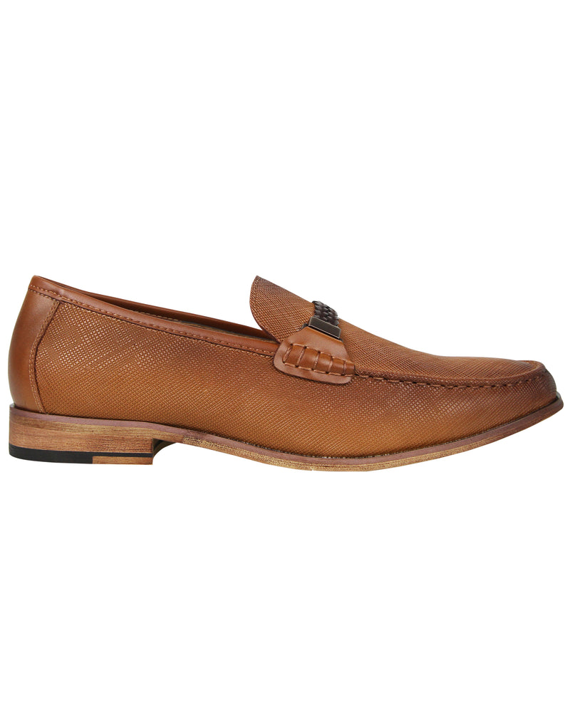 Load image into Gallery viewer, Tomaz F118 Braided Loafers (Camel)