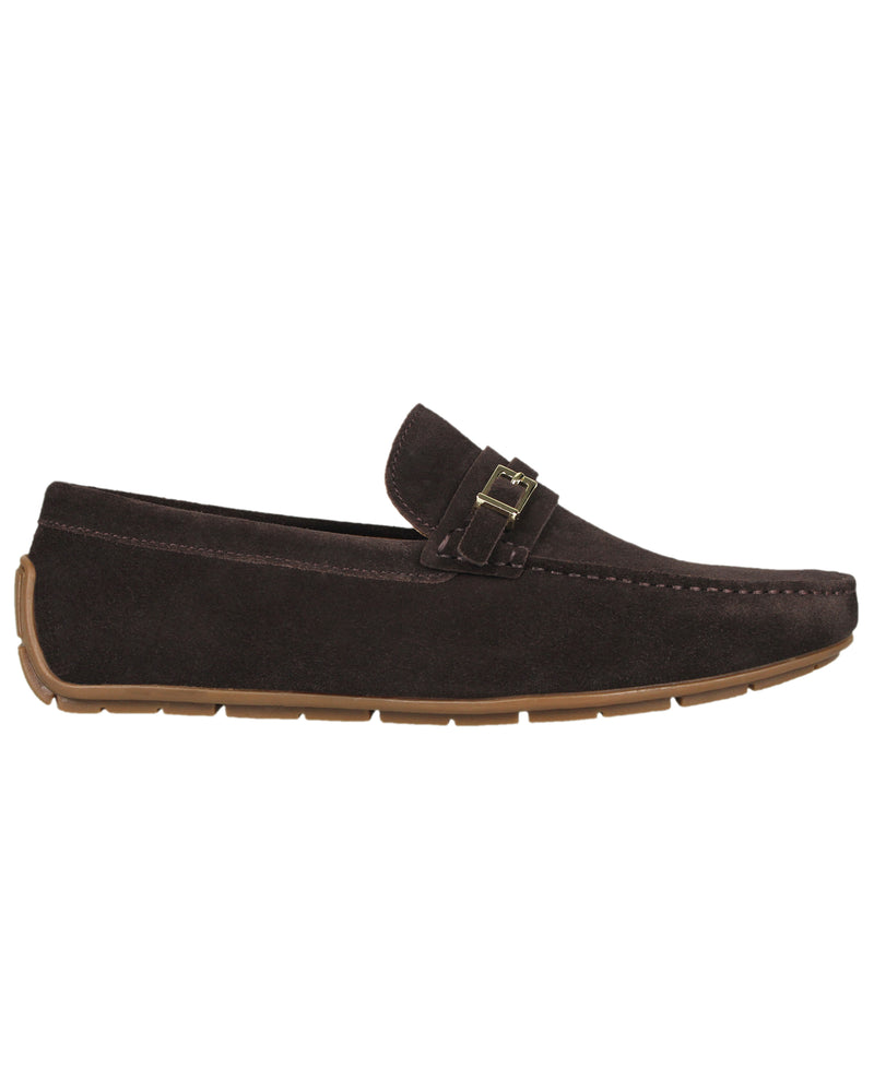 Tomaz C358 Front Buckled Moccasins (Coffee)