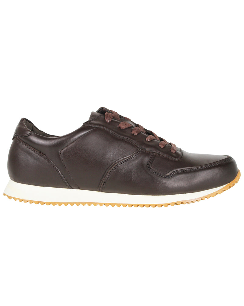 Tomaz C321 Leather Sneakers (Coffee)