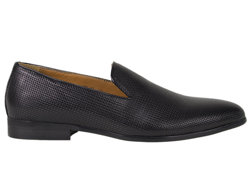 Tomaz F187 Formal Slip On (Black) - Tomaz Shoes (782182514777)