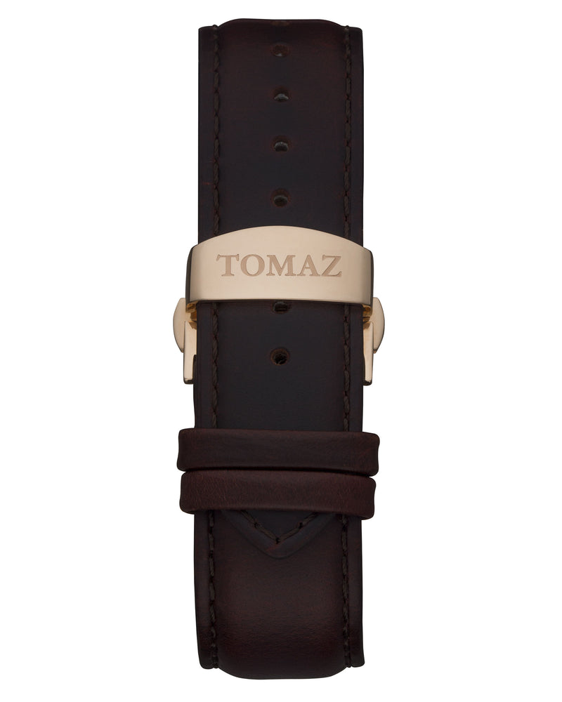 Load image into Gallery viewer, Tomaz Men's Watch TW008 (Rose Gold/Navy)