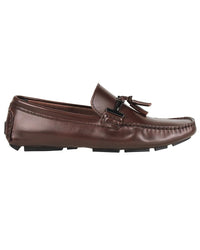 Tomaz C004A Buckled Tassel Loafers (Coffee) - Tomaz Shoes