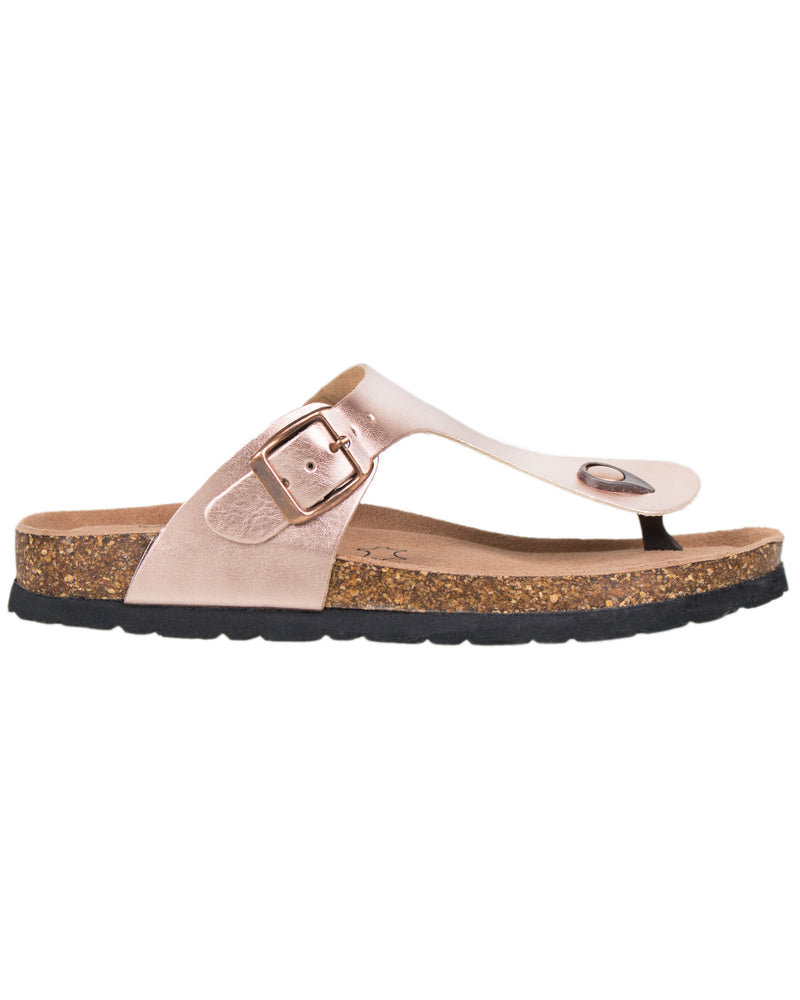 Load image into Gallery viewer, Tomaz F14 Ladies Strap Sandal (Rose Gold)