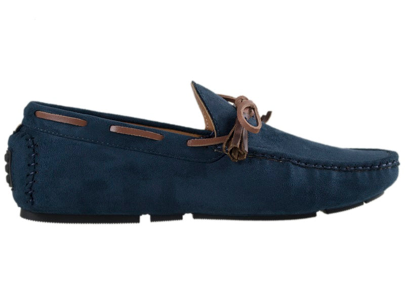 Tomaz C227A Bow Slip On (Navy) - Tomaz Shoes (10461375432)