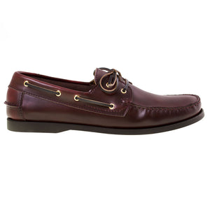 Tomaz BF001 Leather Boat Shoes (Wine) - Tomaz Shoes