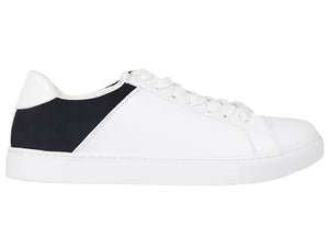 Tomaz TR1003 Mens Sneakers (White/Blue)