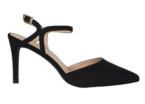 Tomaz MNH15 Suede Leather Heels (Black)