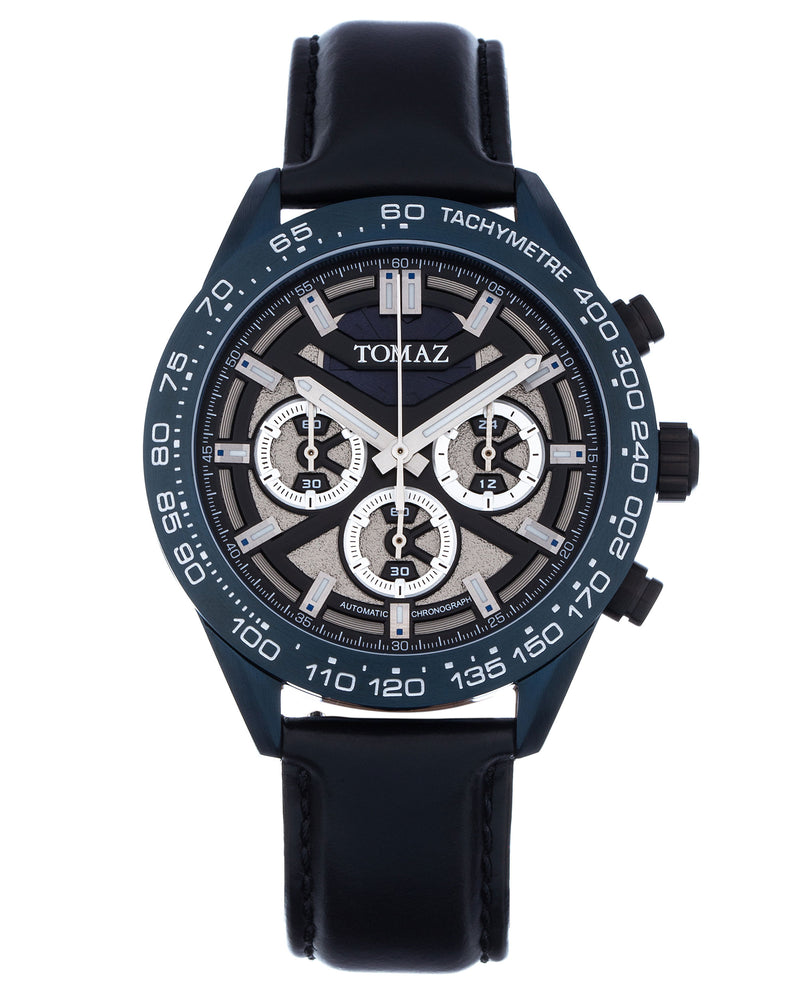 Load image into Gallery viewer, Tomaz Men's Watch TW011 (Blue/Grey)