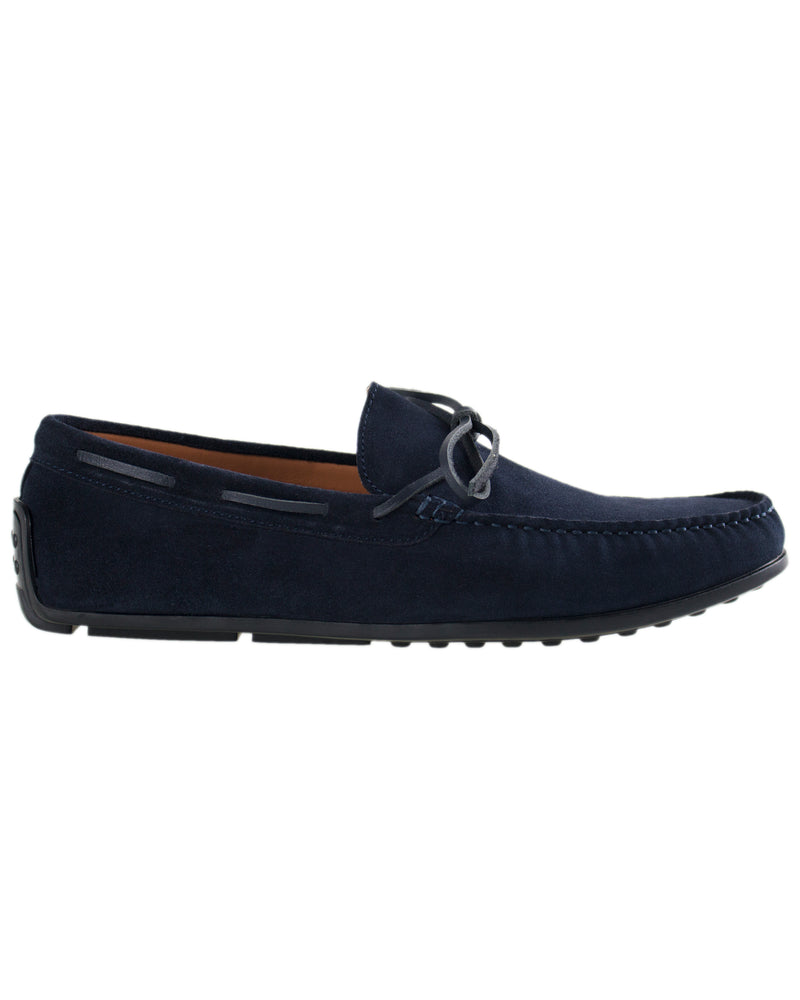 Tomaz BF309 Bow Moccasins (Navy)