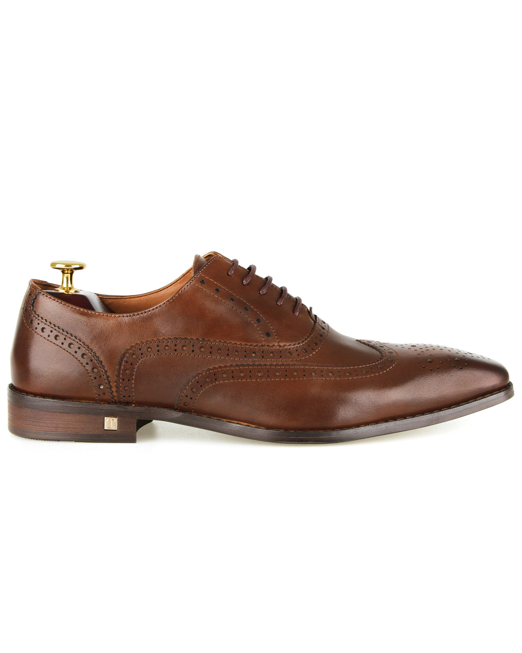 Tomaz F220 Formal Wingtip Oxford (Brown)