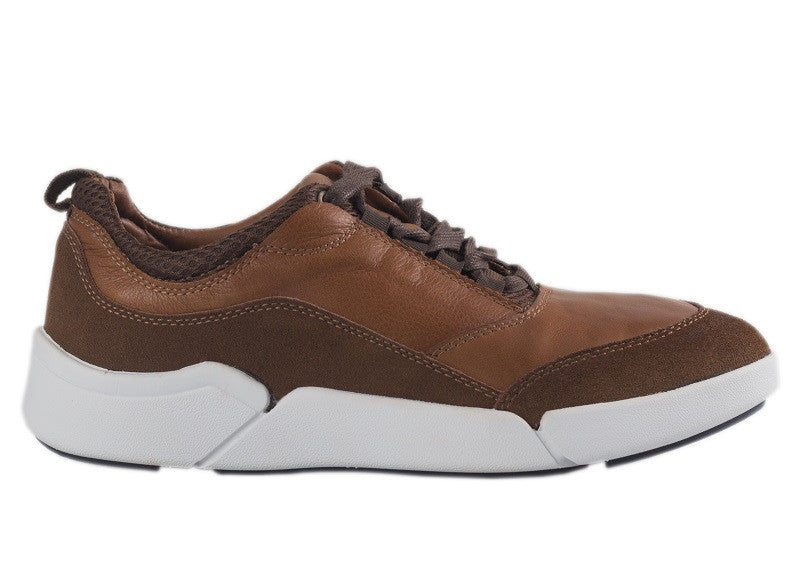 Tomaz C288 Leather Sneakers (Brown) - Tomaz Shoes (10315659144)