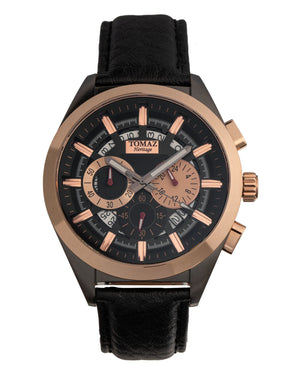 Load image into Gallery viewer, Tomaz Men's Watch Romeo XXV (Silver/Rose Gold/Grey) best men watch, automatic watch for men, Trending men watch, Luxury watch, Watches of Switzerland, automatic watch for men, jam tangan lelaki, jam tangan automatik, jam kronograf