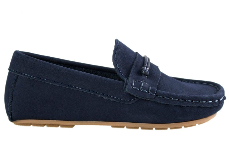 Tomaz C307 Penny Loafers (Navy) - Tomaz Shoes (10469733384)