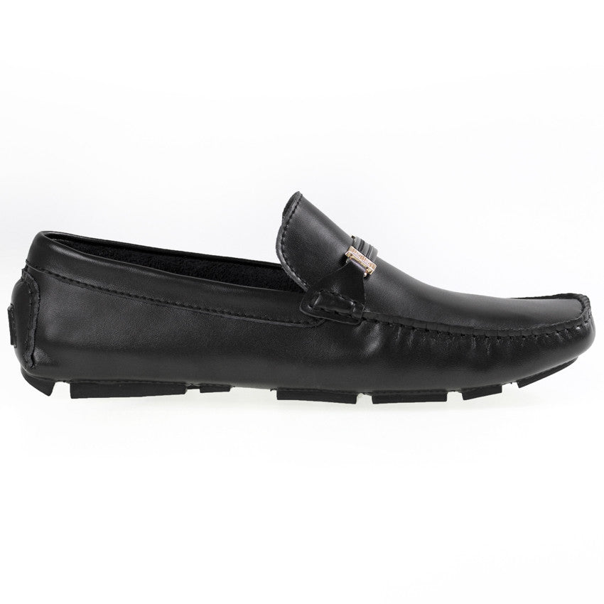 Tomaz C264 Buckled Loafers (Black) - Tomaz Shoes (8840253064)
