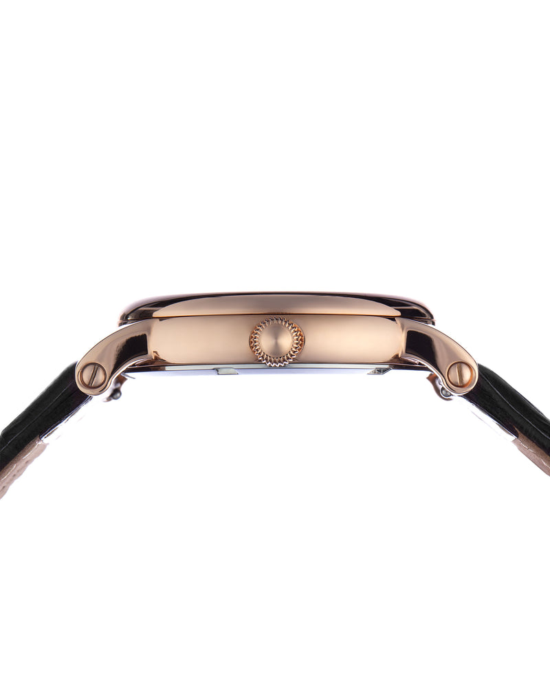 Load image into Gallery viewer, Tomaz Ladies Watch TQ007 (Rose Gold/Black) watches Malaysia, watches for women, watches online, Watches of Switzerland, Watches for sale online, simple watch, ladies watch, watch with Sapphire Crystal, Swarovski watch