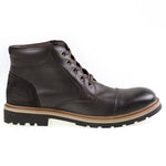Tomaz C269 Cap-toe Boots (Coffee) - Tomaz Shoes (8861468168)