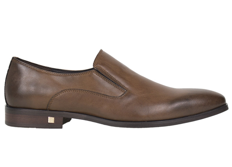 Tomaz F162 Formal Slip On (Brown) - Tomaz Shoes (420739973149)