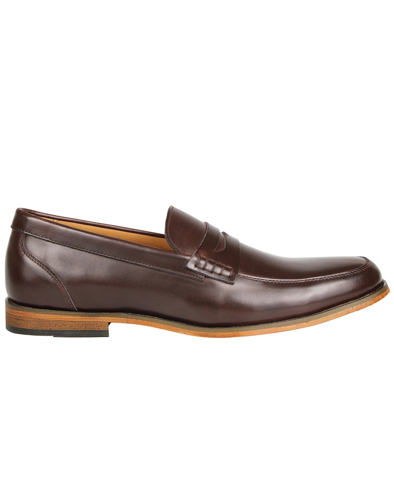 Tomaz F213 Penny Loafers (Coffee)