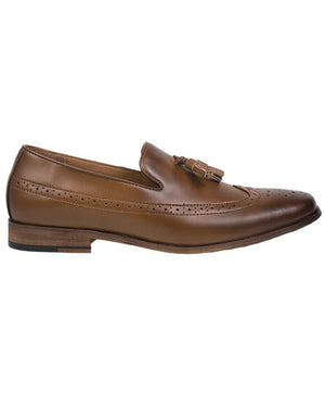 Load image into Gallery viewer, Tomaz F116 Tassel Loafers (Brown) (8716797960)