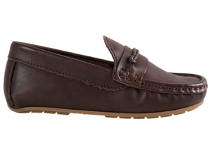 Tomaz C307 Penny Loafers (Coffee) - Tomaz Shoes