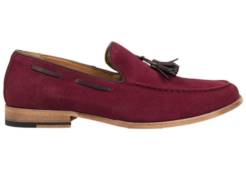 Load image into Gallery viewer, Tomaz C226 Tassel Loafers (Red) - Tomaz Shoes (388309286941)