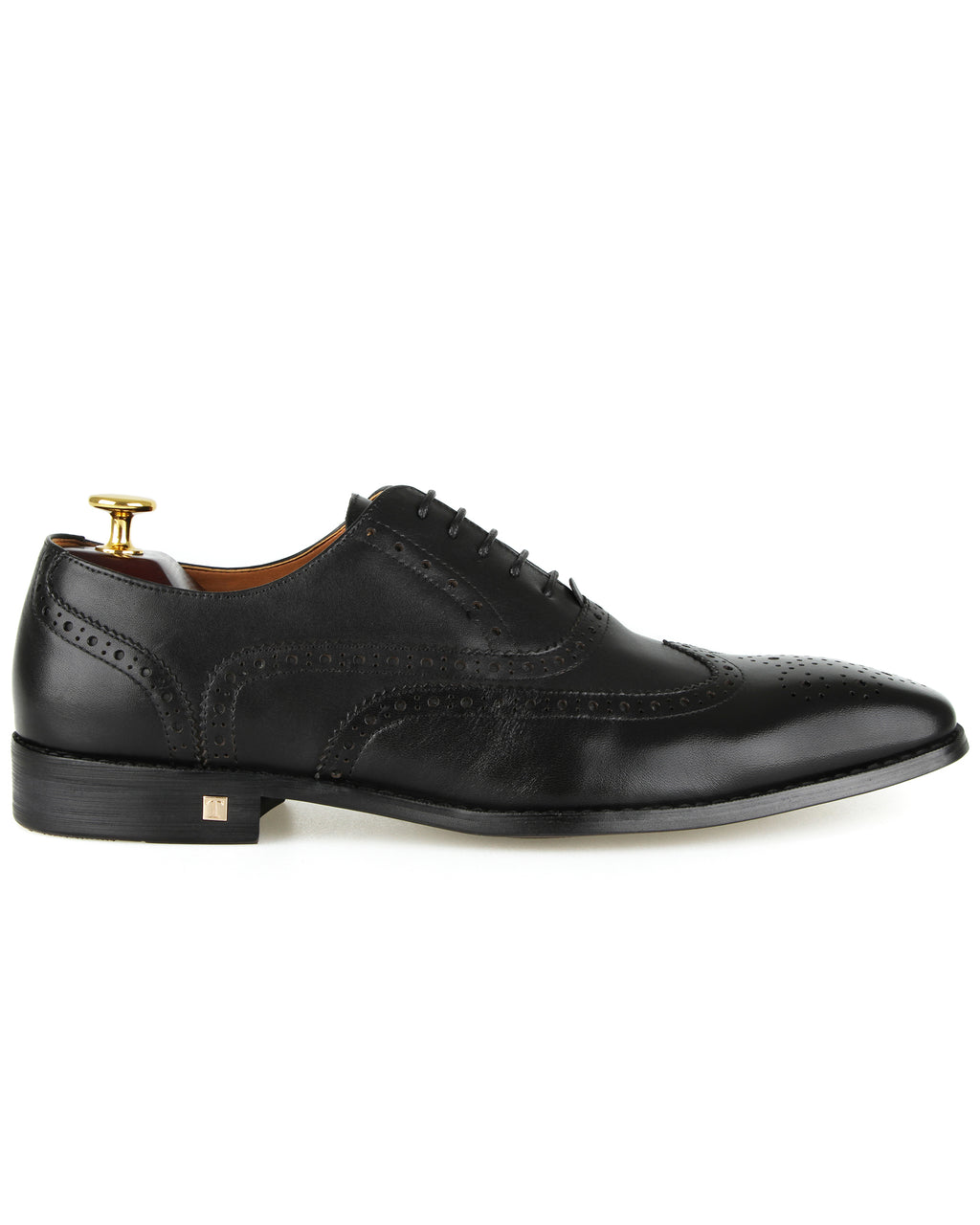 Tomaz F220 Formal Wingtip Oxford (Black)