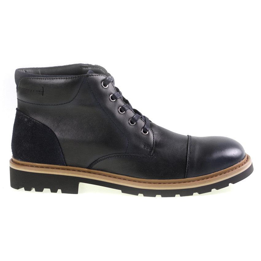 Tomaz C269 Cap-toe Boots (Black) - Tomaz Shoes (8861420104)