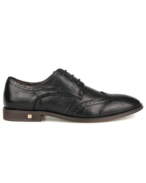 Load image into Gallery viewer, Tomaz F215 Wingtip Lace Up Formal (Black)