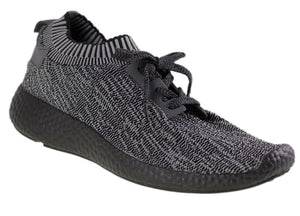 Tomaz TR004 Running Knit (Black.Grey)