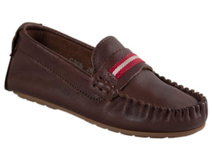 Tomaz C306 Penny Strap (Coffee) - Tomaz Shoes