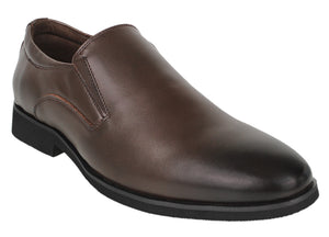 Tomaz F160 Formal Slip On (Coffee) - Tomaz Shoes