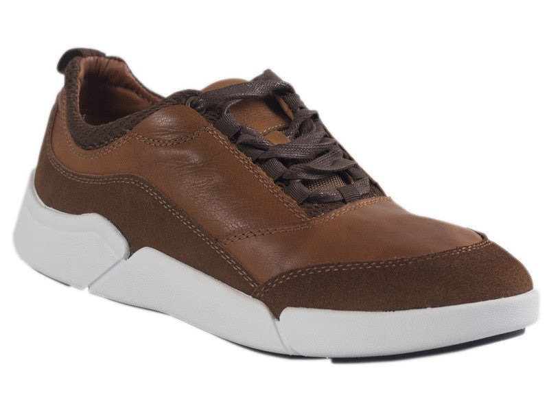 Load image into Gallery viewer, Tomaz C288 Leather Sneakers (Brown) - Tomaz Shoes (10315659144)