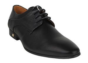 Load image into Gallery viewer, Tomaz F181 Plain Toe Derbies (Black) (1552784130137)