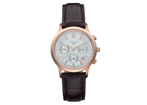 Tomaz Ladies Watch TQ002 (Rose Gold/White) - Tomaz Shoes