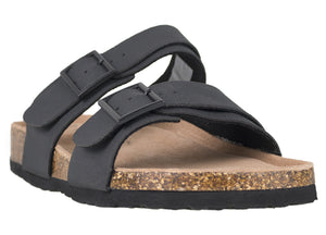 Load image into Gallery viewer, Tomaz M31 Strap Sandal (Black) (747700191321)