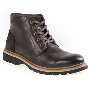Tomaz C269 Cap-toe Boots (Coffee) - Tomaz Shoes