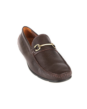 Load image into Gallery viewer, Tomaz C409 Gold Buckle Moccasins (Coffee) men's shoes casual, men's dress shoes, discount men's shoes, shoe stores, mens shoes casual, men's casual loafers men's loafers sale, men's dress loafers, shoe store near me.