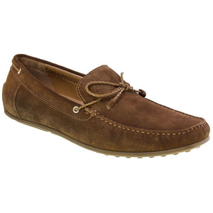 Tomaz BF002 Suede Moccasins (Brown) - Tomaz Shoes